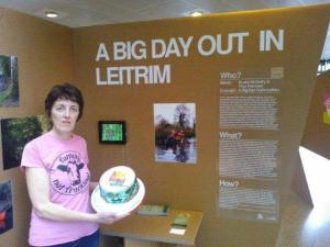 Come have a taste of Leitrim, Nuala at the BIG DAYS OUT IN LEITRIM Dublin launch