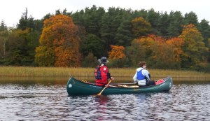 Canoeing on Lough McNean