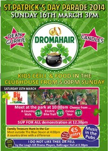 St Patrick's Weekend, Dromahair
