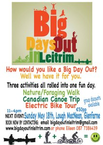 NEXT BIG DAY OUT IN LEITRIM 18TH MAY, LOUCH MACNEAN...COME JOIN US
